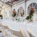 Beautiful, autumnal decoration for a wedding